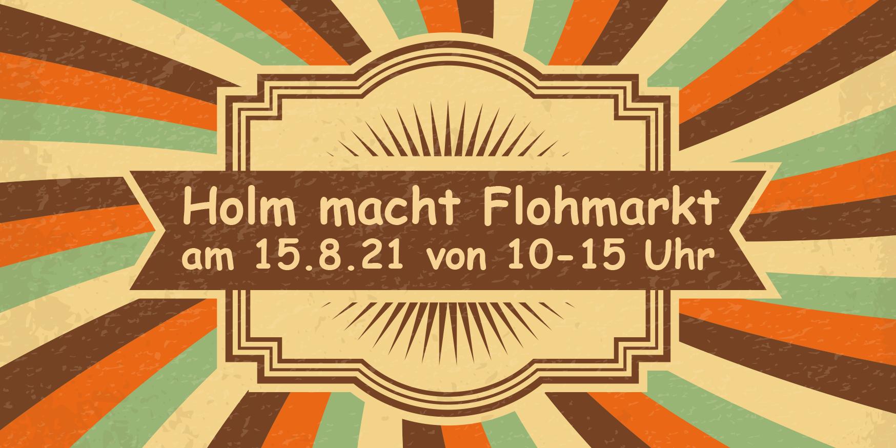 Header Flohmarkt Holm